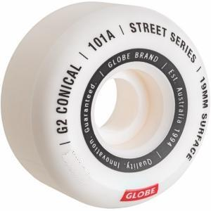 Globe G2 Conical Street Wheel 101a / 53mm ― Canada's Online Skate Shop