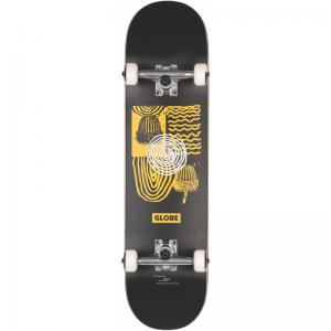 Globe G1 Fairweather Black / Yellow Full Complete 8.0 ― Canada's Online Skate Shop