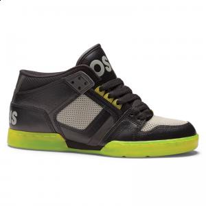 Osiris NYC 83 Mid | Black / PWG / Lime SALE! ― Canada's Online Skate Shop