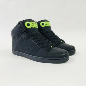 Osiris NYC 83 CLK - Black / Green / Black ― Canada's Online Skate Shop