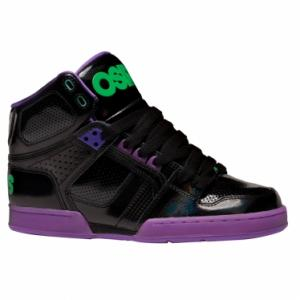 Osiris Womens NYC 83 SLM | Black / Purple / Green ― Canada's Online Skate Shop