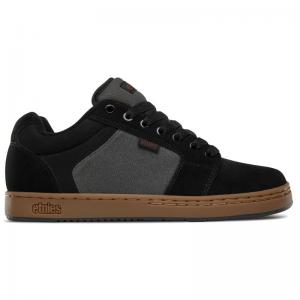 Etnies Barge XL - Black / Dark Grey / Gum ― Canada's Online Skate Shop