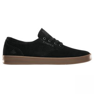 Emerica Romero Laced - Black / Charcoal / Gum ― Canada's Online Skate Shop