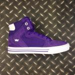 Supra Vaider - Purple - White
