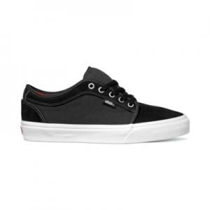 Vans Chukka Low - Black / White / Chili Pepper ― Canada's Online Skate Shop