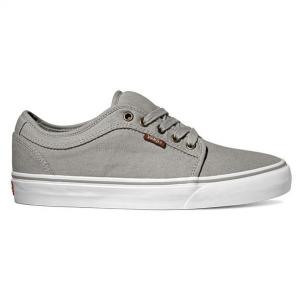 Vans Chukka Low - (10 oz Canvas) Grey / White ― Canada's Online Skate Shop