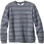 Enjoi Method Crew - Heather / Blue Stripe