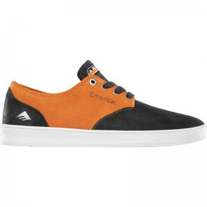 Emerica Romero Laced x Bronson - Black / Orange ― Canada's Online Skate Shop