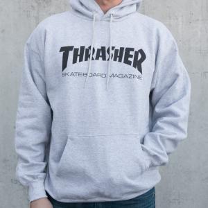 Thrasher Skate Mag Pullover Hoodie - Grey ― Canada's Online Skate Shop