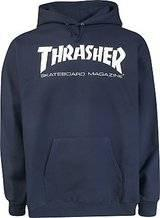 Thrasher Skate Mag Pullover Hoodie - Navy ― Canada's Online Skate Shop