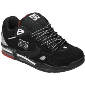DC Versaflex | Black / White / Athletic Red (BWA) ― Canada's Online Skate Shop