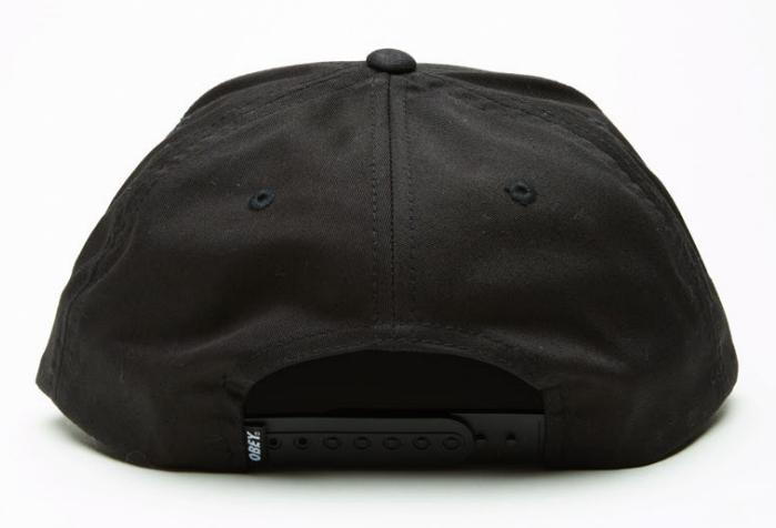 Obey Classic Patch Snapback - Black ― Canada s Online Skate Shop f3a57a8a165c