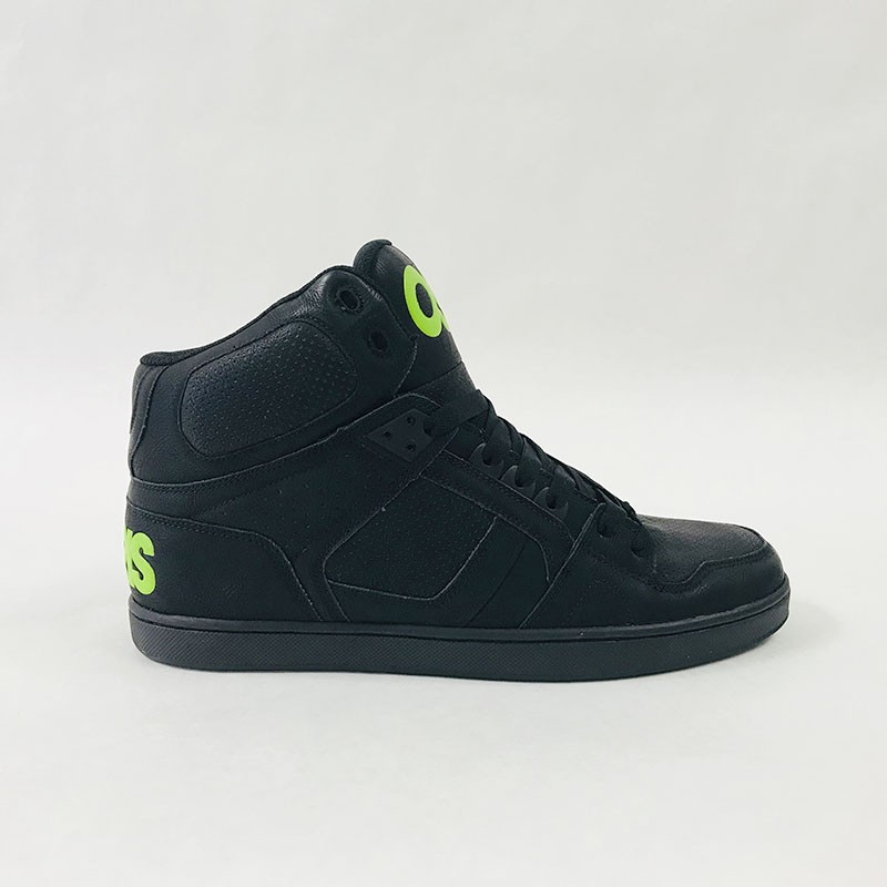 841a2362f2f Osiris NYC 83 CLK - Black / Green / Black ― Canada's Online Skate Shop
