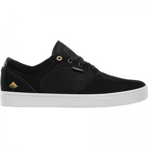 Emerica Figgy Dose - Black / White / Gold ― Canada's Online Skate Shop