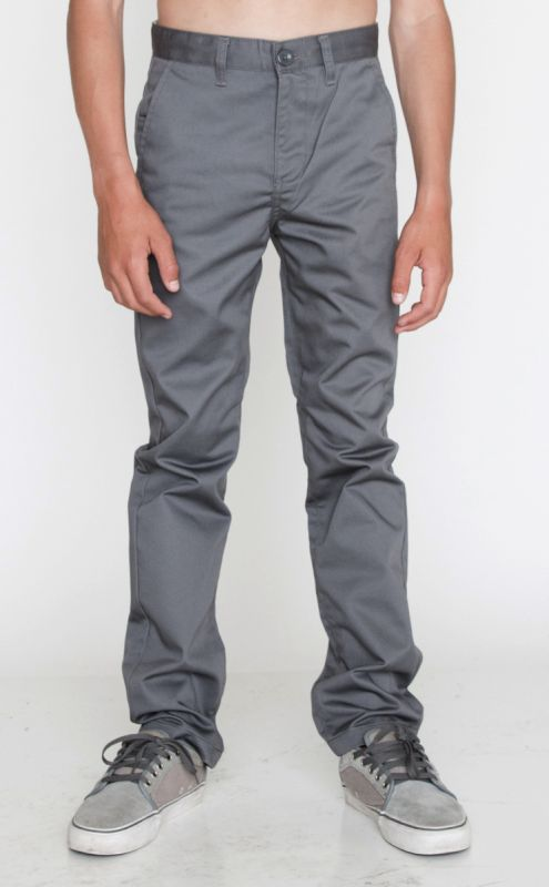 Rvca Big Youth The Weekday Pant Pavement Pav ― Canada S