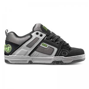 DVS Comanche - Grey / Charcoal Leather ― Canada's Online Skate Shop