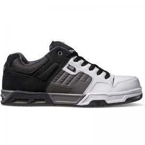 DVS Enduro Heir - Black Charcoal White Leather ― Canada's Online Skate Shop