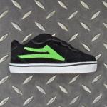 Lakai Toddlers Manchester Select | Black / Lime SALE!