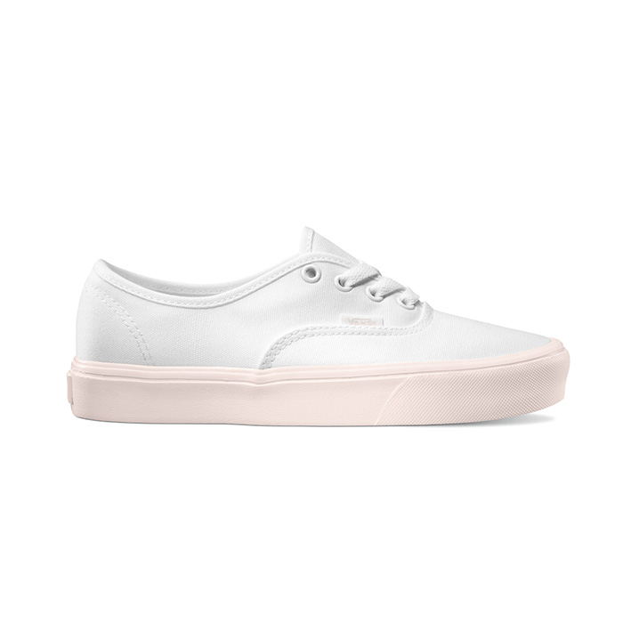 9c73b410fb85 Vans Womens Authentic Lite - (Pop Pastel) True White   Delicacy ― Canada s  Online Skate Shop