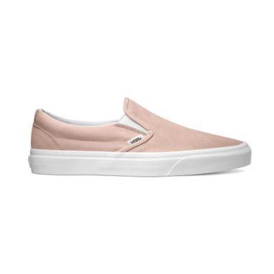 5699e561f94b2e Vans Classic Slip-On - (Suede) Sepia Rose ― Canada s Online Skate Shop