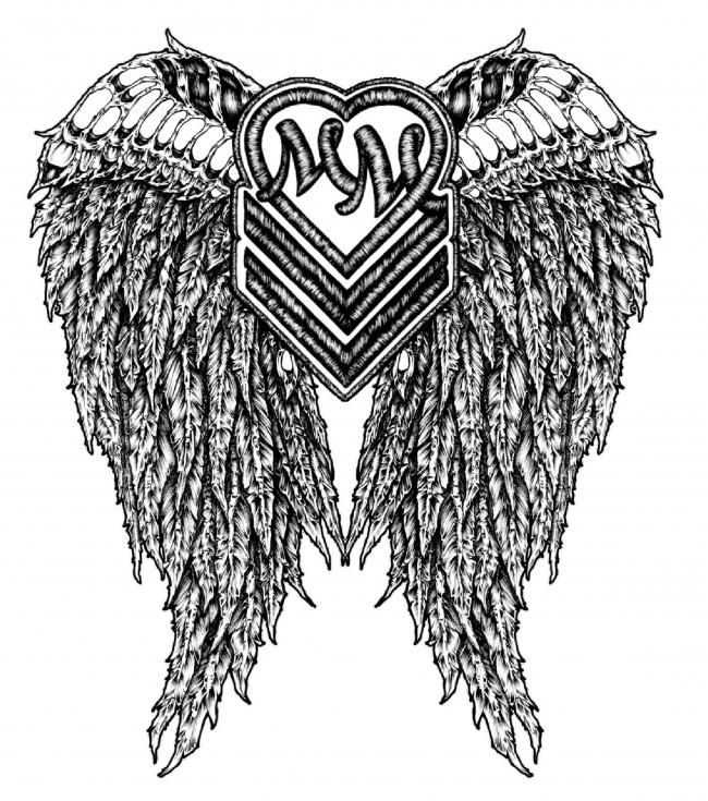 Metal Mulisha Maidens Halo Sticker Canadas Online Skate Shop