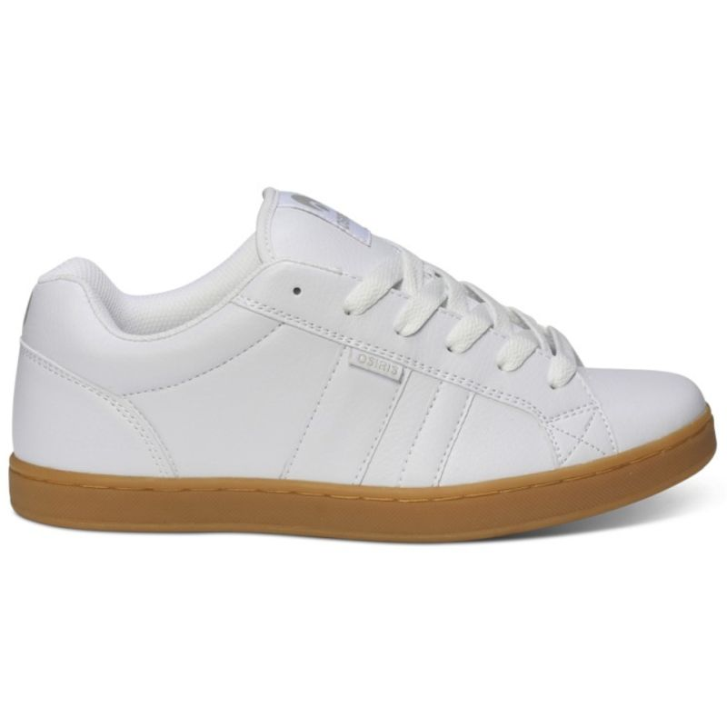 Osiris Loot - White / Light Grey / Gum ― Canada's Online Skate Shop