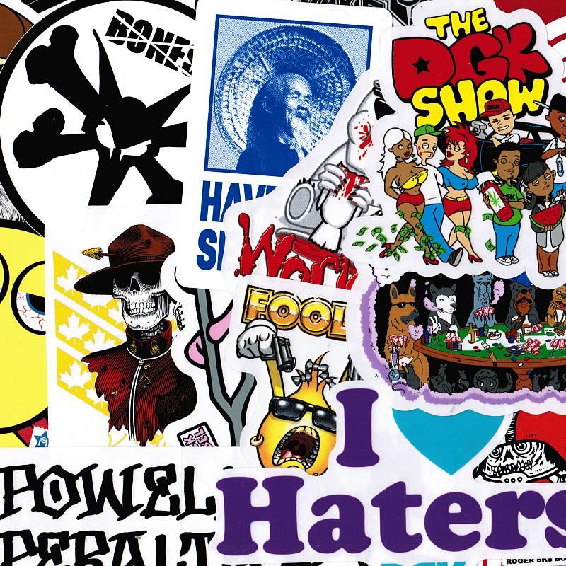 Sticker Pack (Assorted 10 Pack) ― Canada's Online Skate Shop