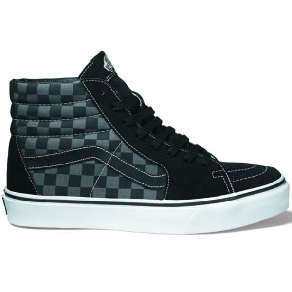 923a56c534 Vans Kids Sk8-Hi - (Checkerboard) Black   Pewter ― Canada s Online Skate  Shop