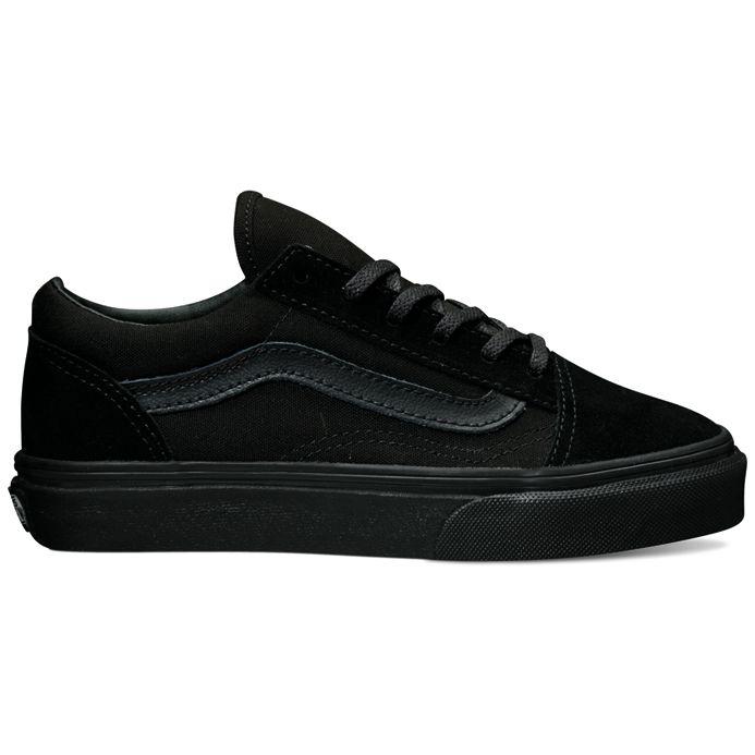 a395afd7129 Vans Kids Old Skool - Black   Black ― Canada s Online Skate Shop