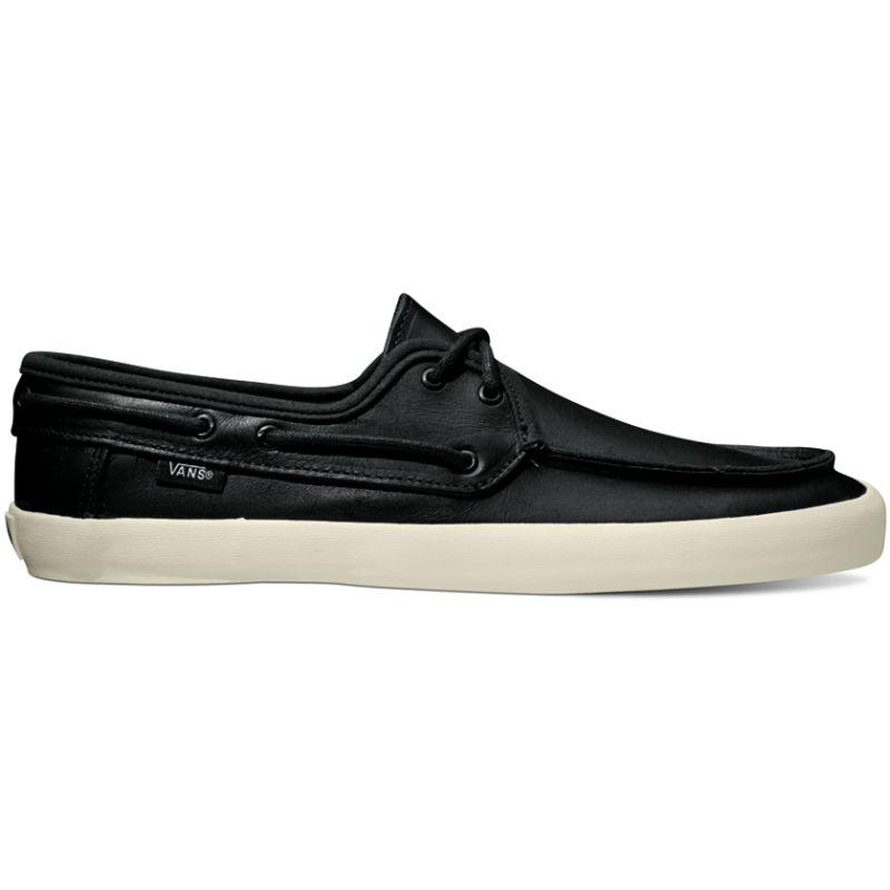 cf87d4a29f Vans Chauffeur - (Leather) Black   Black