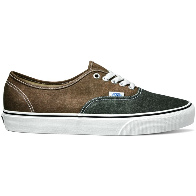 11a822e3ff0628 Vans Authentic - (Washed 2 Tone) Black   Desert Palm